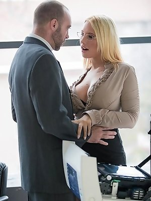 What Kyra Hot wants, Kyra gets. When her co-worker Pablo's rugged good looks caught her eye, Kyra decided to do whatever it took to seduce him. A
